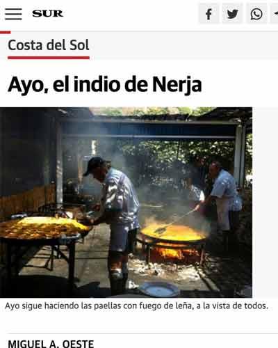 Ayo, el indio de Nerja